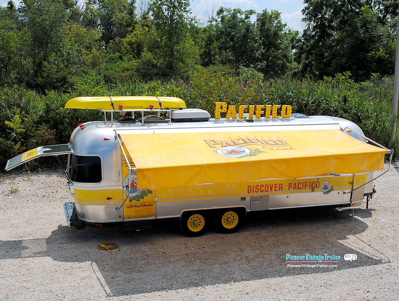 Pacifico Beer Marketing Vending Trailers Pioneer Vintage