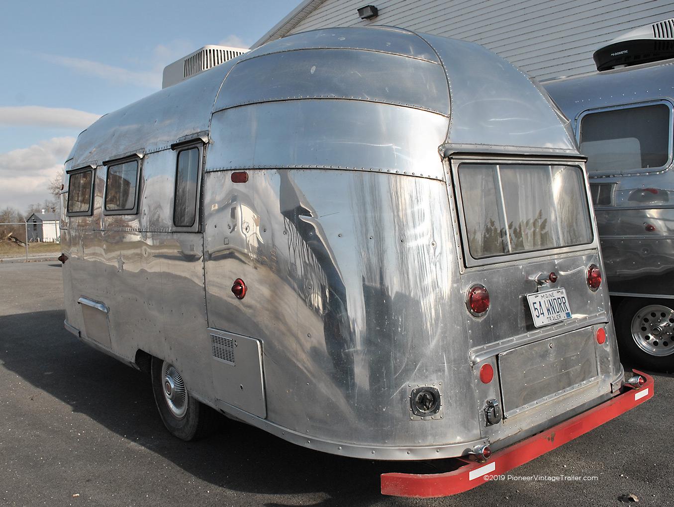 1954 airstream wanderer pioneer vintage trailer - Airstream replacement interior panels ...
