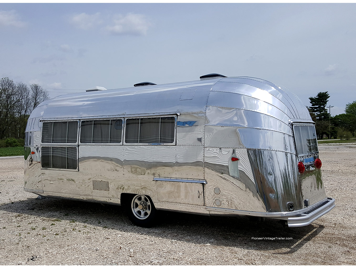 1957 Airstream Caravanner Pioneer Vintage Trailer