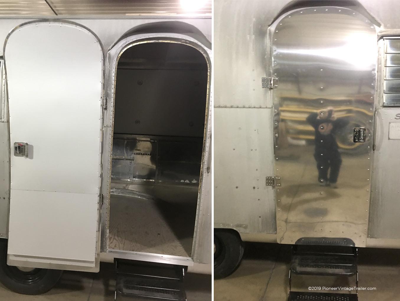 1964 airstream safari pioneer vintage trailer - Airstream replacement interior panels ...