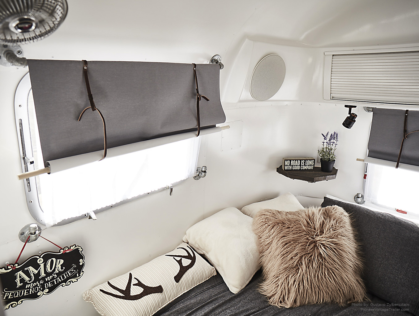 Airstream Interior Makeover Ideas Pioneer Vintage Trailer