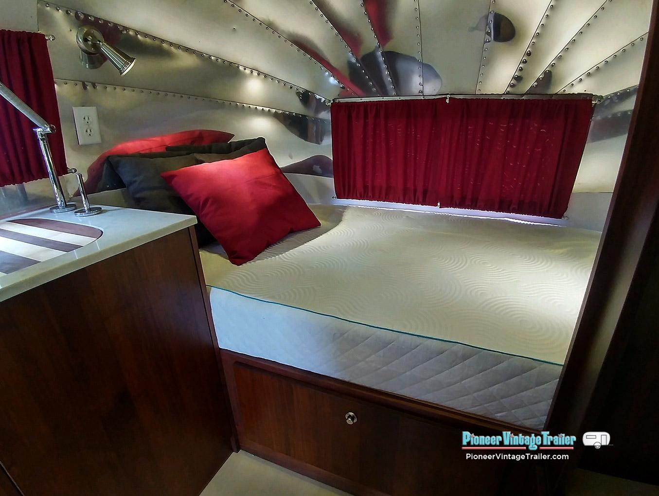 1956 Airstream Bubble Pioneer Vintage Trailer